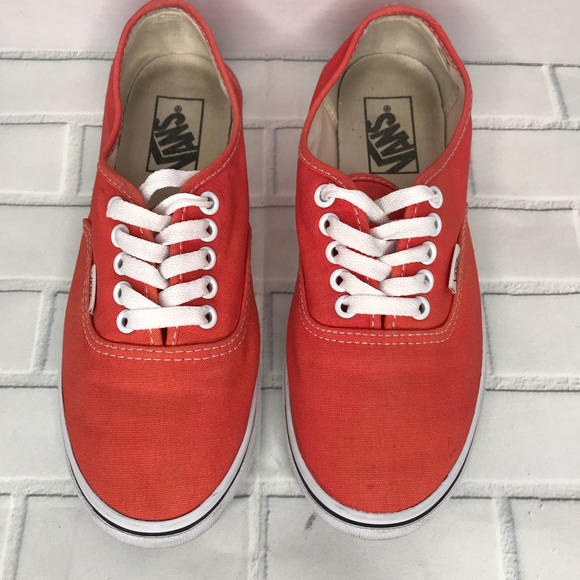 5cecedb4f03590 Peach 🍑 Vans Tennis shoes
